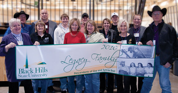 2010 BHSU Legacy Family - Descendants of Guy and Sylvia Doll