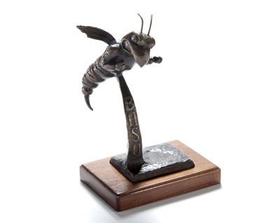 """Bronze"" Sting Sculpture"