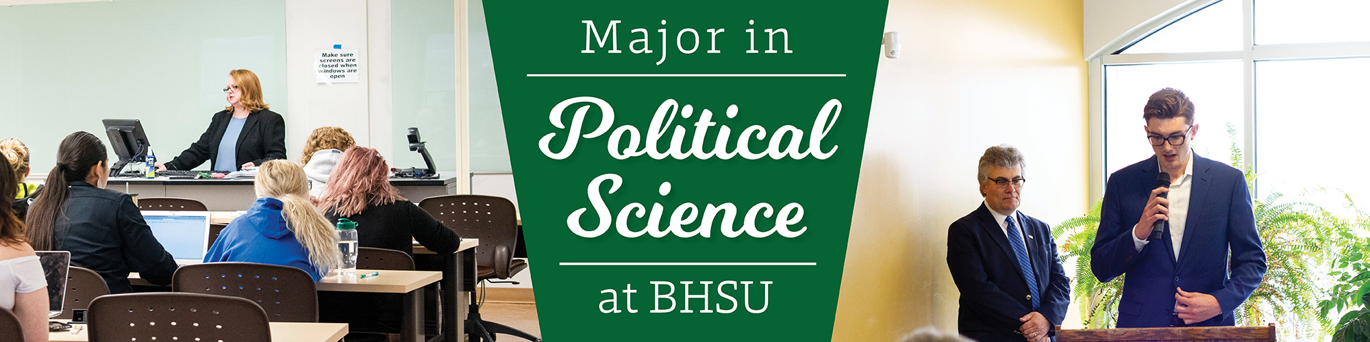 Discover Political Science Education at BHSU