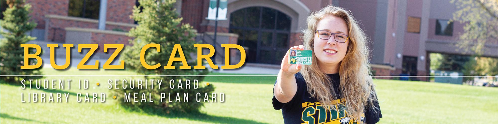 Buzzcard at BHSU
