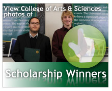 View photos of the College of Business Scholarship Winners.