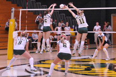 BHSU Volleyball wins DAC championships! Watch them play in the opening round of the NAIA National Championships