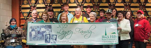 2012 BHSU Legacy Family