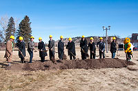 New Residence Hall Ground-breaking