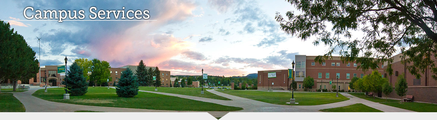 Campus Services available at BHSU