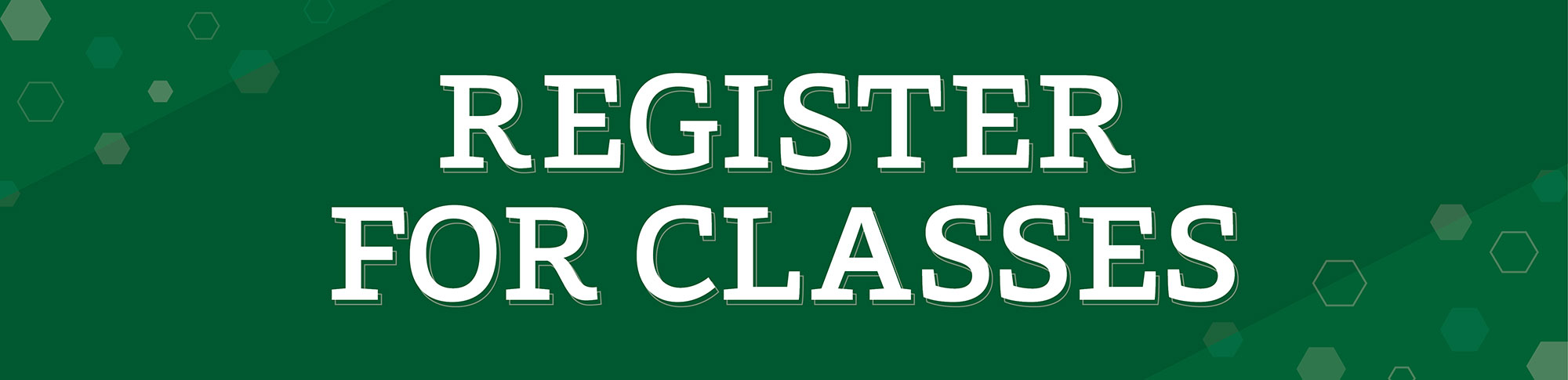 Registration and Records can help get you in the right classes and on the path to your degree.