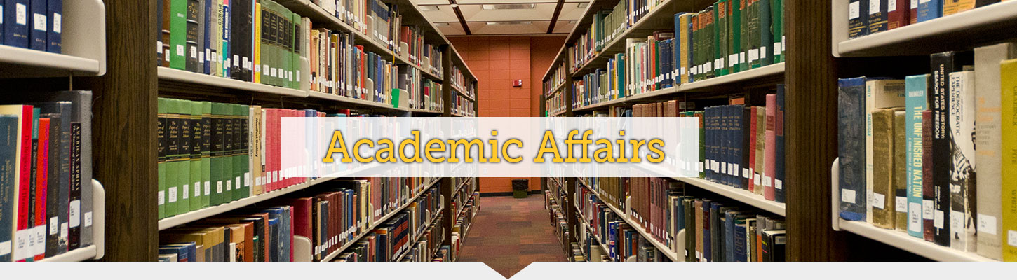 Find helpful resources through Academic Affairs.