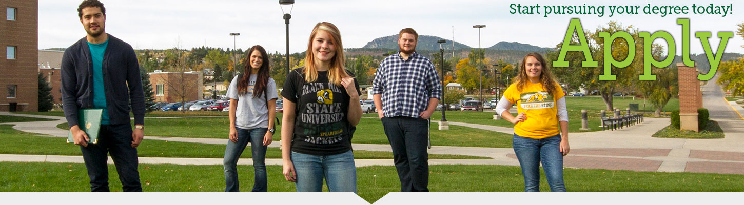 Apply to Black Hills State University. Start your degree today!