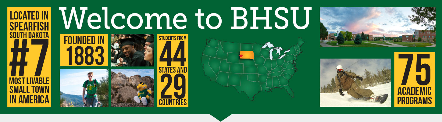 Learn more about Black Hills State University in Spearfish, South Dakota.