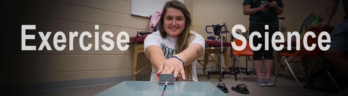Study exercise science at BHSU in Spearfish, SD.
