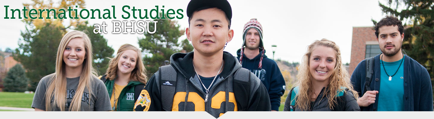 Study Internationally at Black Hills State University.