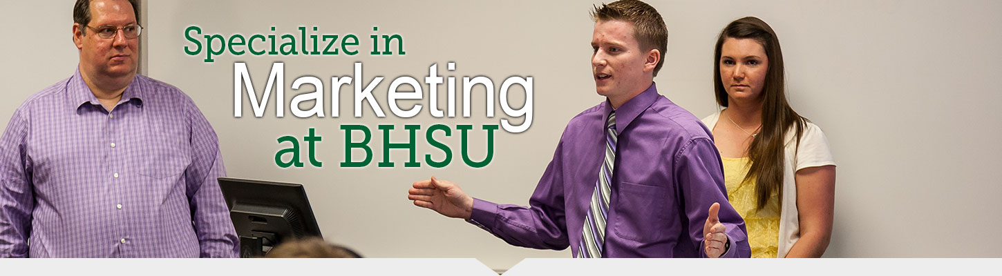Get your Marketing degree from Black Hills State University.
