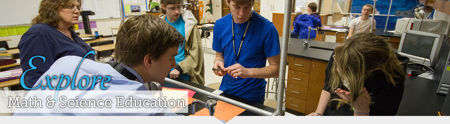 Earn your Math and Science Education degree at the top education school in South Dakota.