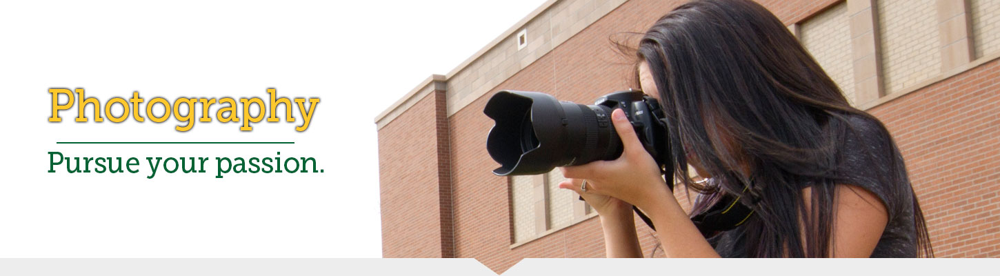 Get a degree in photography at Black Hills State University.