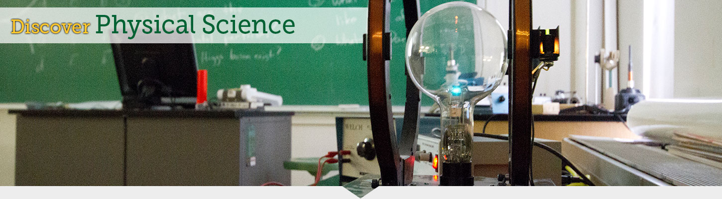 Discover the possibilities with physical science at Black Hills State University.