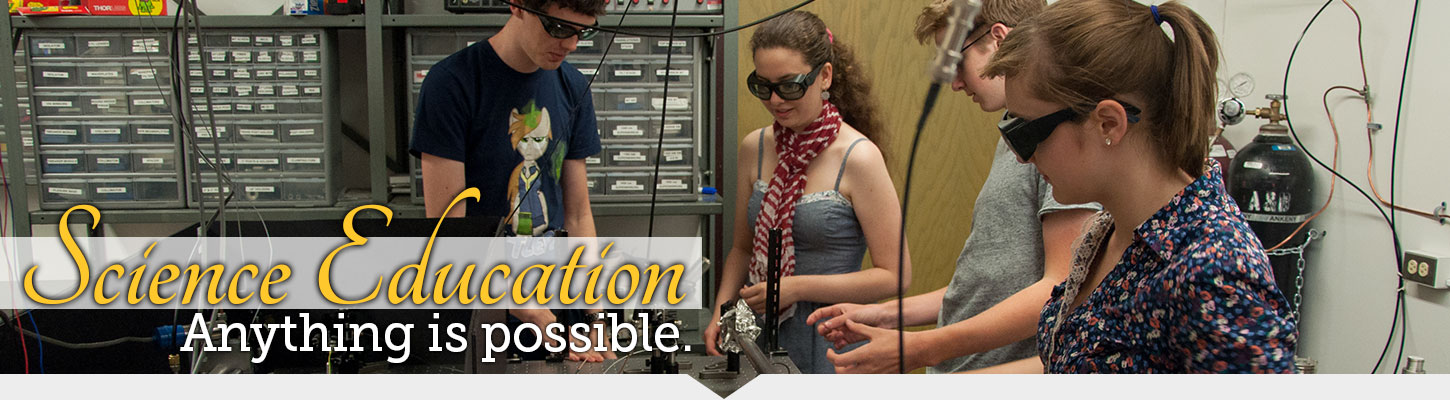 Discover Science Education at BHSU