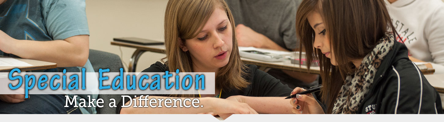 Make a difference with a Special Education degree from Black Hills State University.