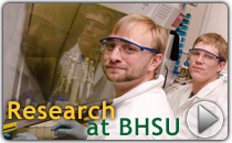 BHSU offers excellent undergraduate research opportunities.