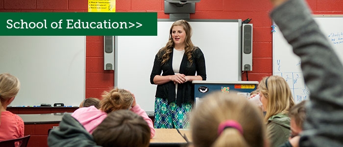 Explore Black Hills State University's School of Education.