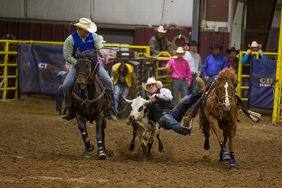 Action Rodeo Shot