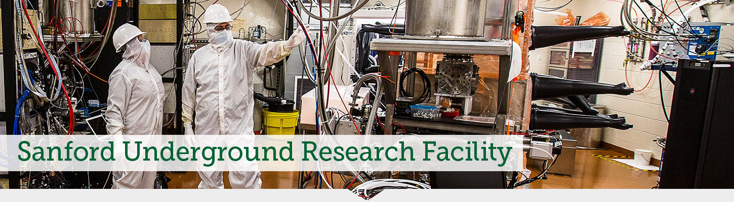 Discover the undergraduate research opportunities available with the Sanford Lab.