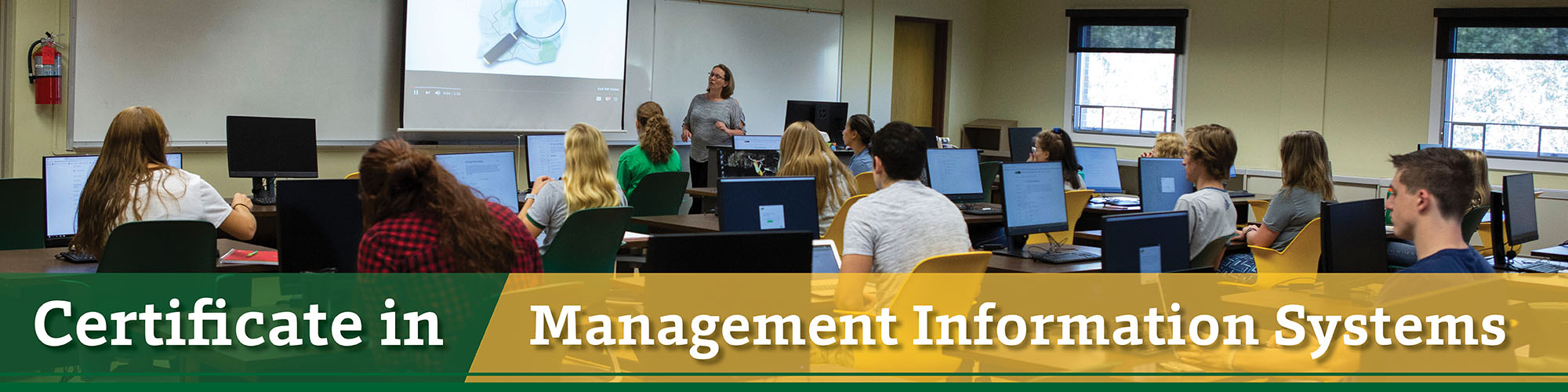 Management Information Systems Certificate at BHSU