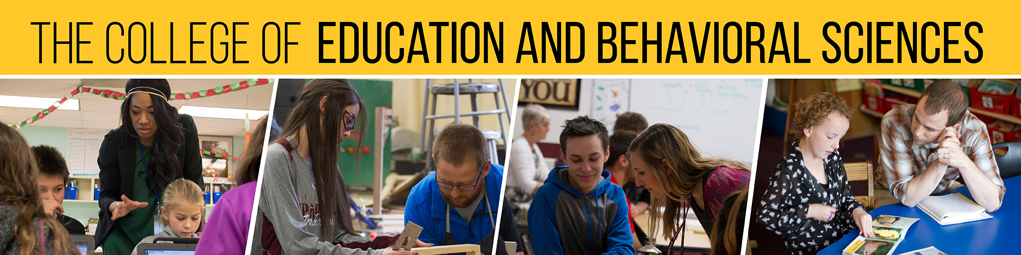 BHSU COLLEGE OF EDUCATION & BEHAVIORAL SCIENCES