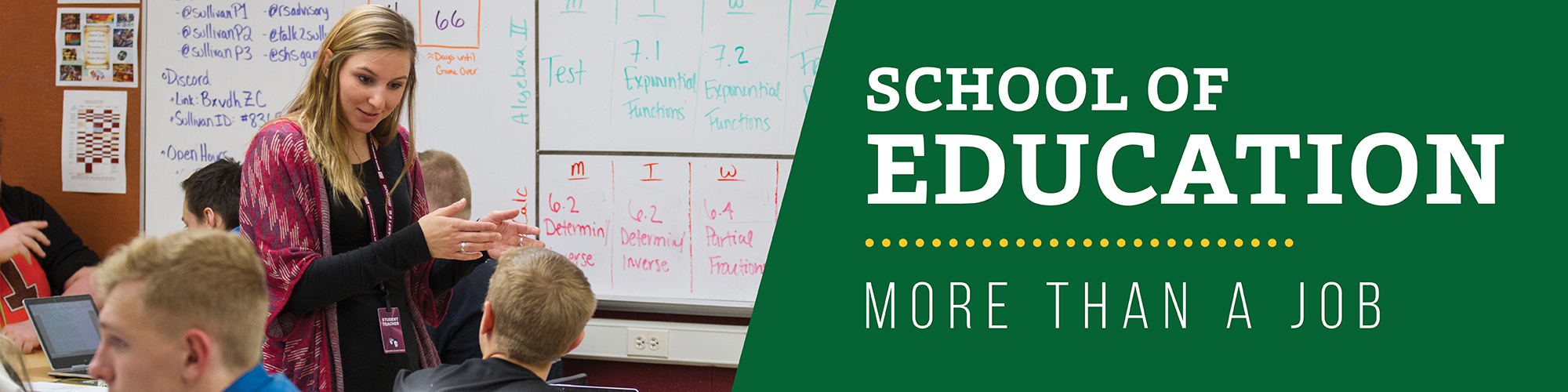 School of Education at BHSU