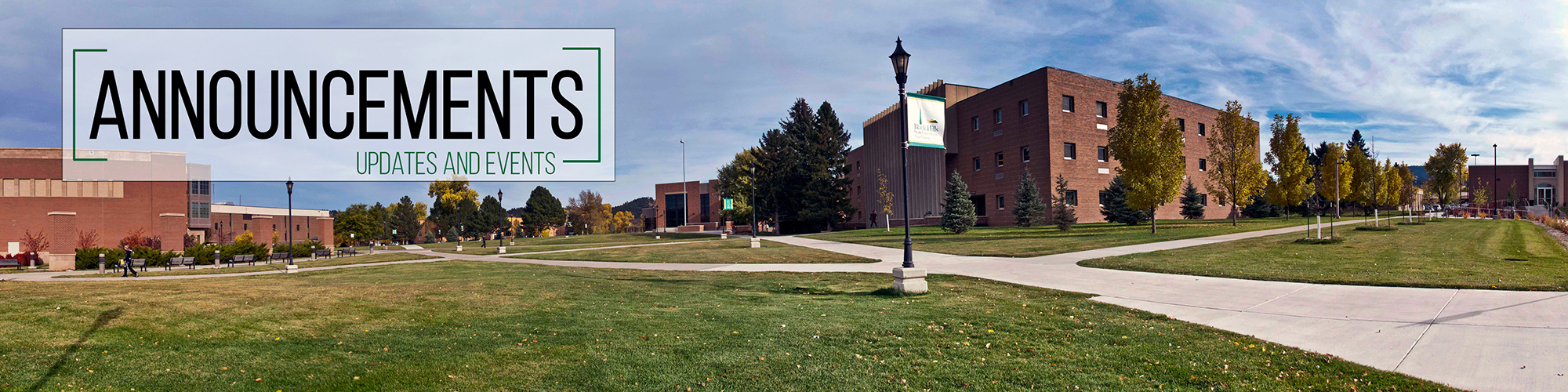 Updates and Events Announcement at BHSU