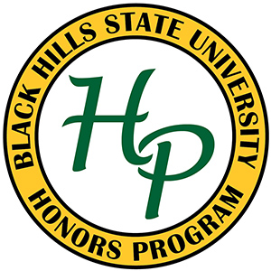 Honors Program logo, which consists mostly of an H and a P