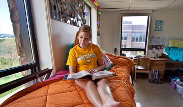 Enjoy your university experience at Black Hills State University.
