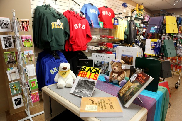 Items at the BHSU Rapid City Bookstore