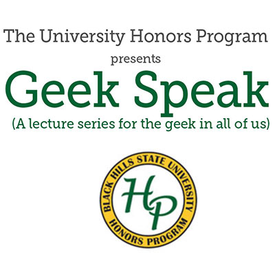 Geek Speak Lecture Series