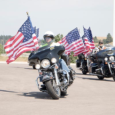 Join us for the Jacket Ride during the Sturgis Rally.