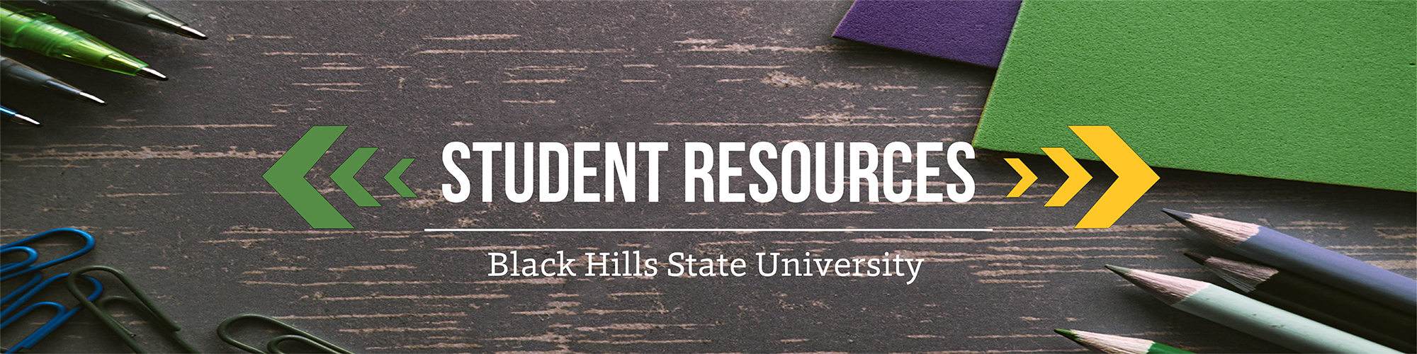 Student Resources Banner