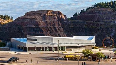 Sanford Lab Homestake Visitor Center.