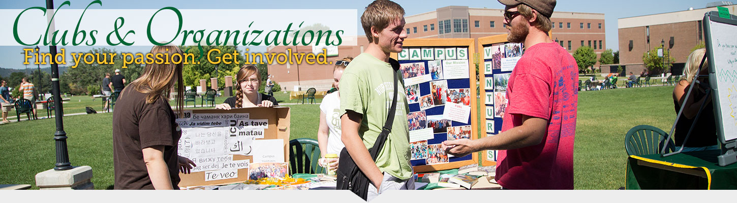 Get involved with student clubs and organizations.