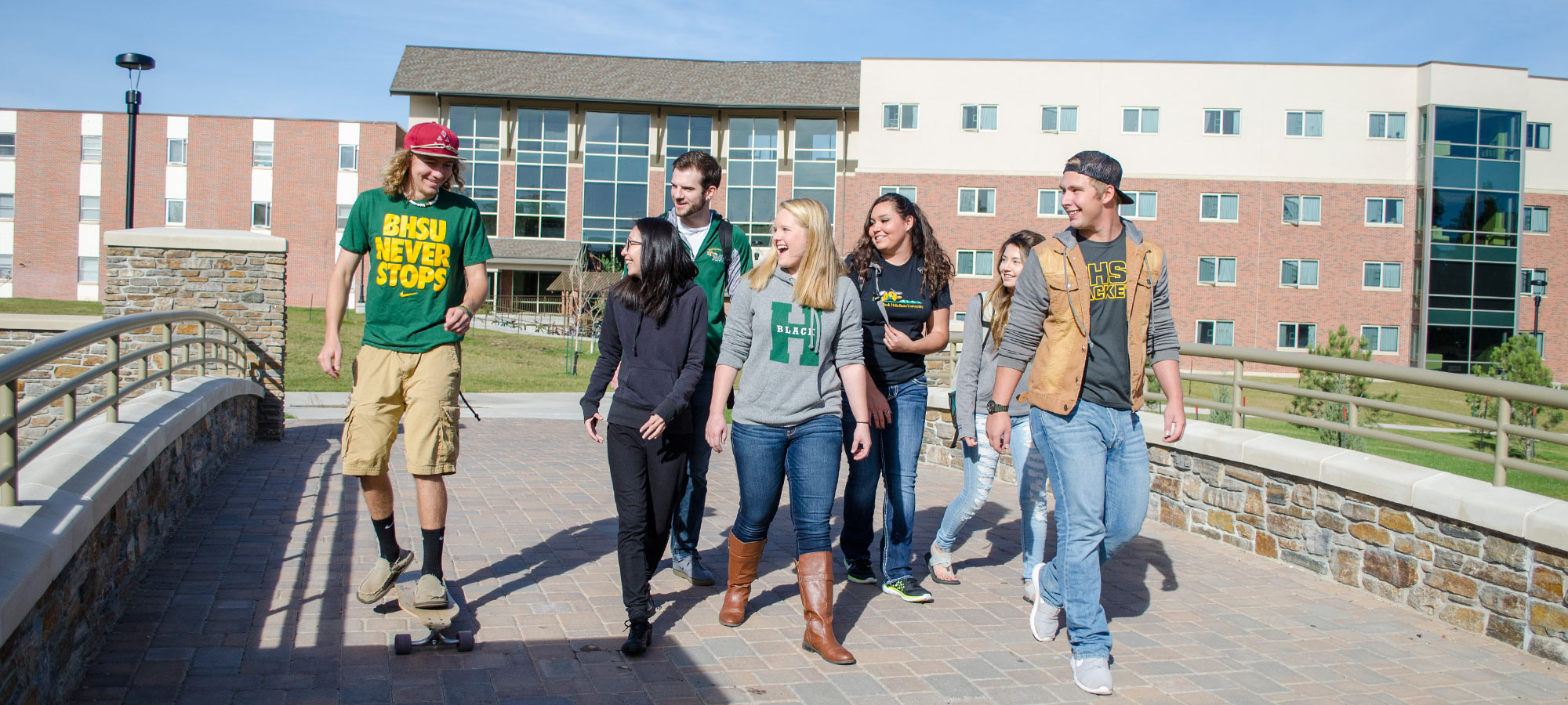 Check out the dorms of BHSU.