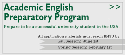 The Academic English Preparation Program (AEPP) prepares students to successfully study in a university in the USA.